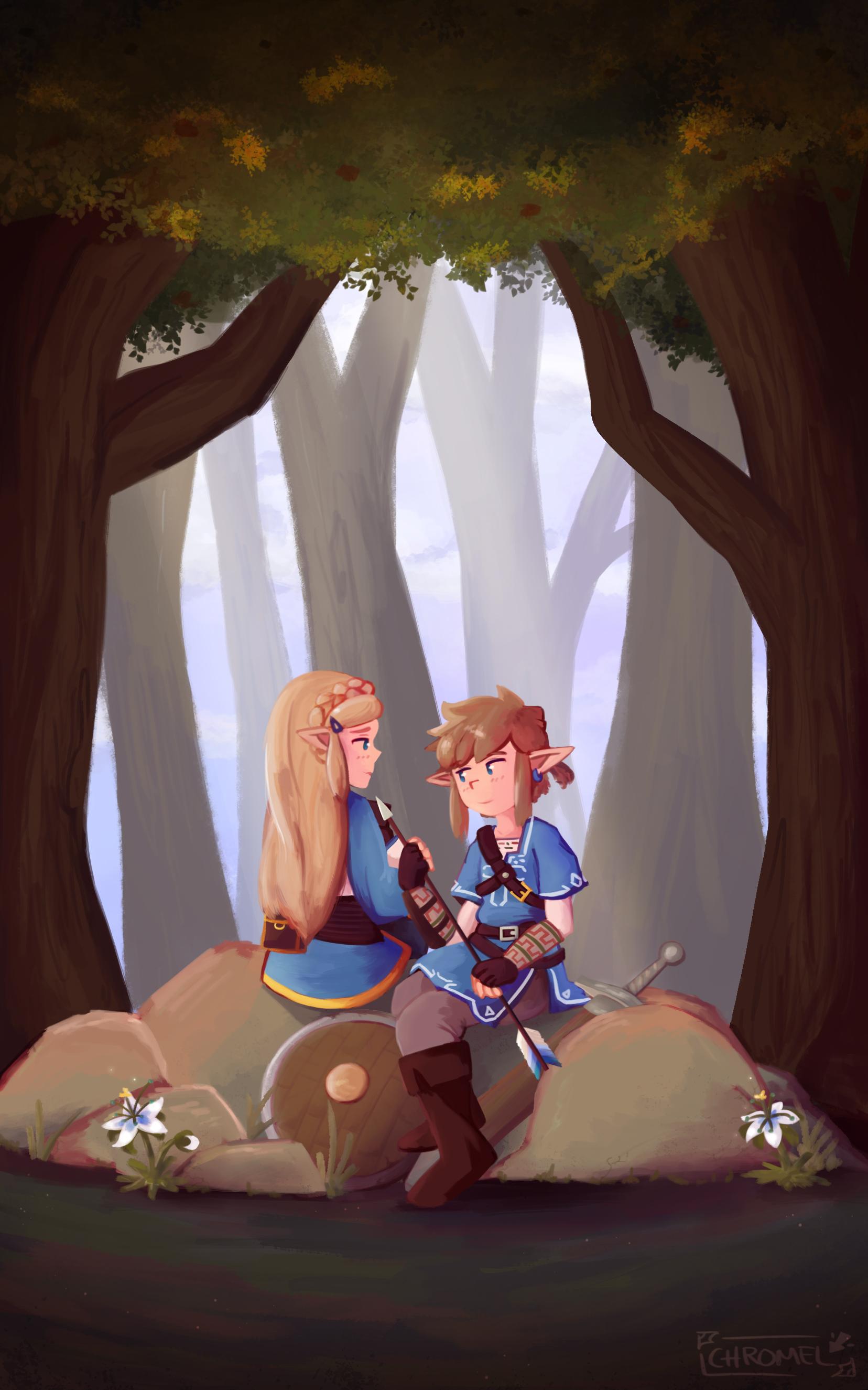 A New Adventure (Zelda: BotW) by Chromel