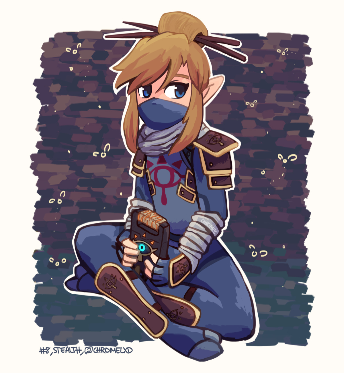 Stealth - Breath of the Wild Armour Set [8/25]