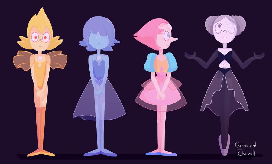 Pearls Of Steven Universe By Chromel On Deviantart