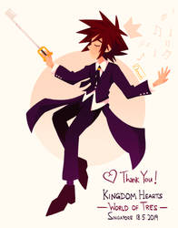 Kingdom Hearts World of Tres Orchestra by Chromel