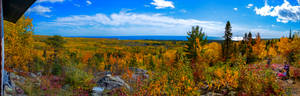 Autumn Colors on the North Shore of Lake Superior