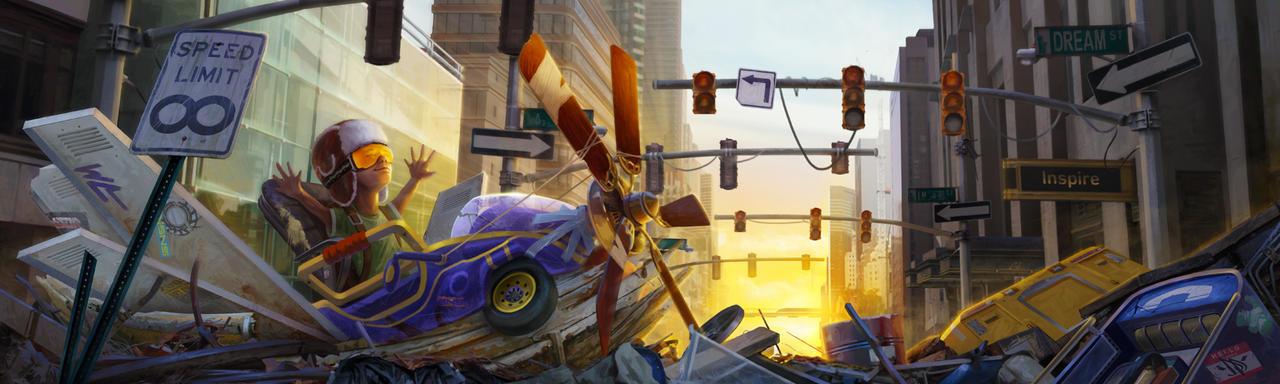 Junkyard Pipe Dream by IISketchII