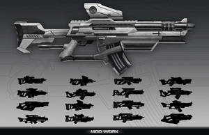 Rifle Concept by DylanPierpont