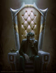 The Insecure King