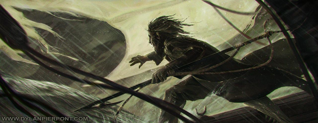 Ahab Portrait by DylanPierpont