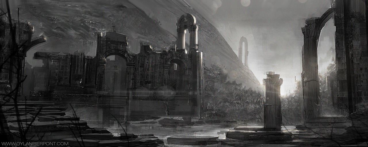 Environment Sketches 02 by DylanPierpont