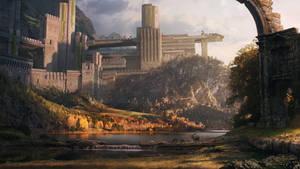 Ancient Walled Kingdom by DylanPierpont