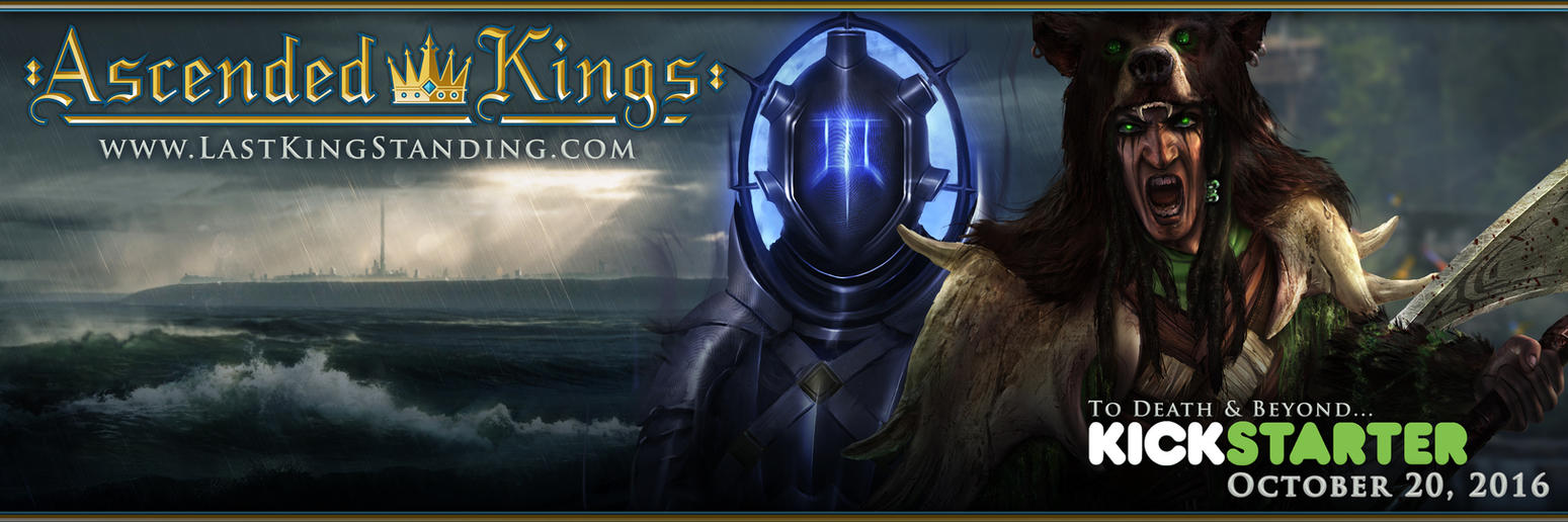 Ascended Kings Eloden Banner by DylanPierpont