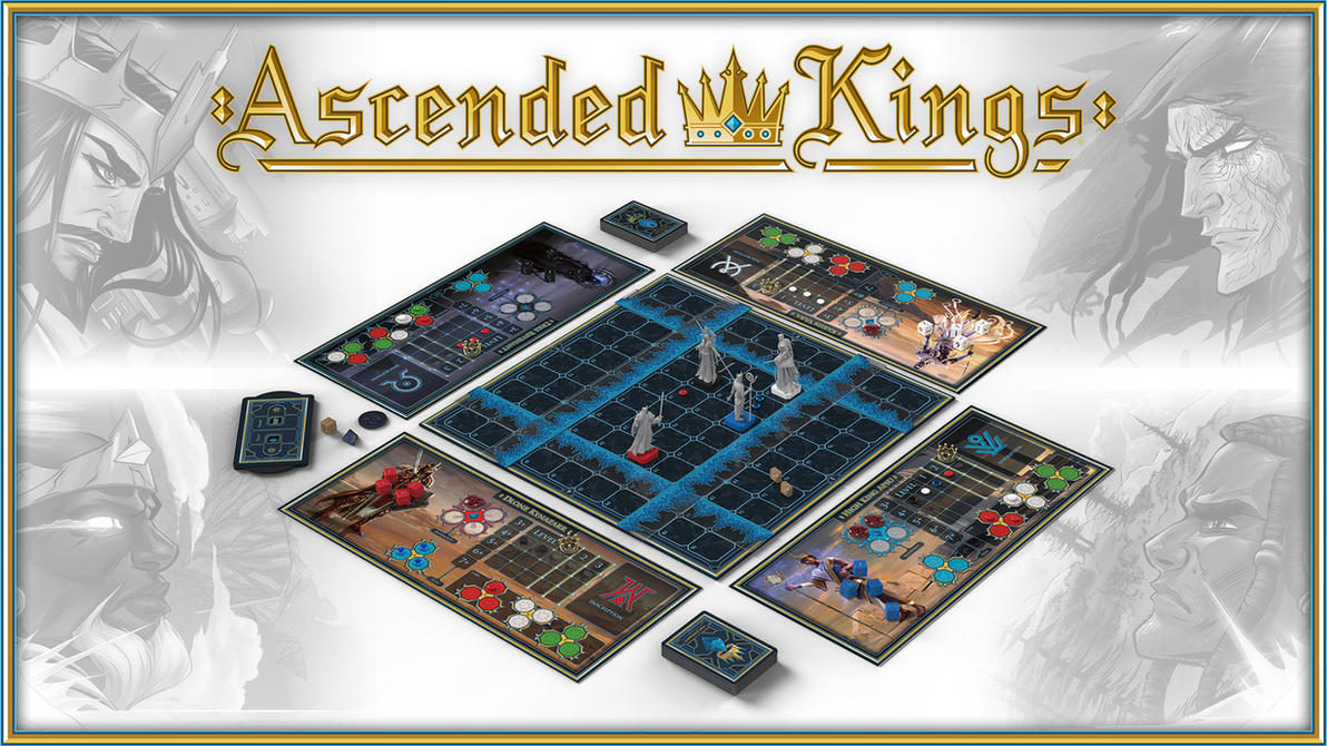Ascended Kings Live on Kickstarter by DylanPierpont