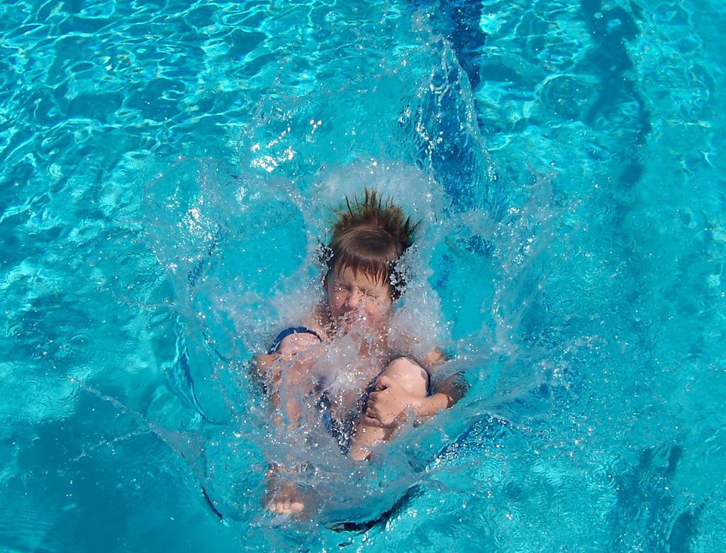 Pool Splash Cannonball pool splash cannonball