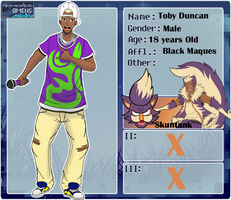 [P-NO] : Toby Duncan by RoachMustard