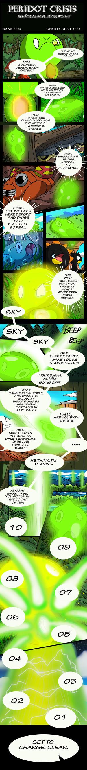 Peridot Crisis Nuzlocke: Prologue Page 02 by RoachMustard