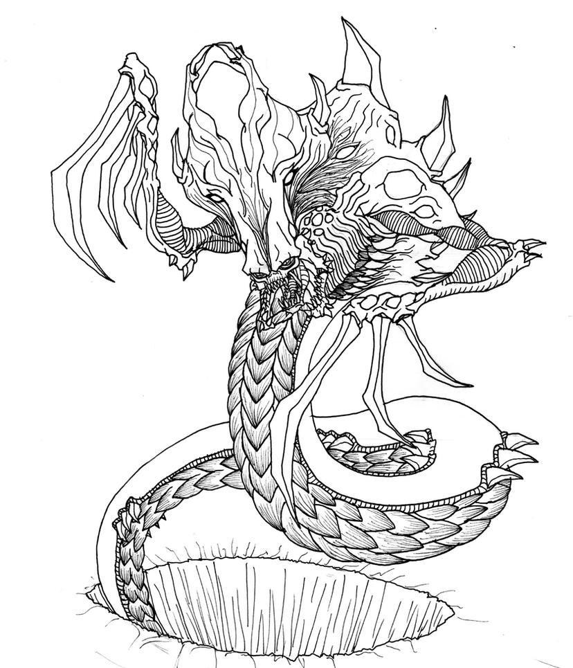 zerg hydralisk by kerberos of hades on deviantart