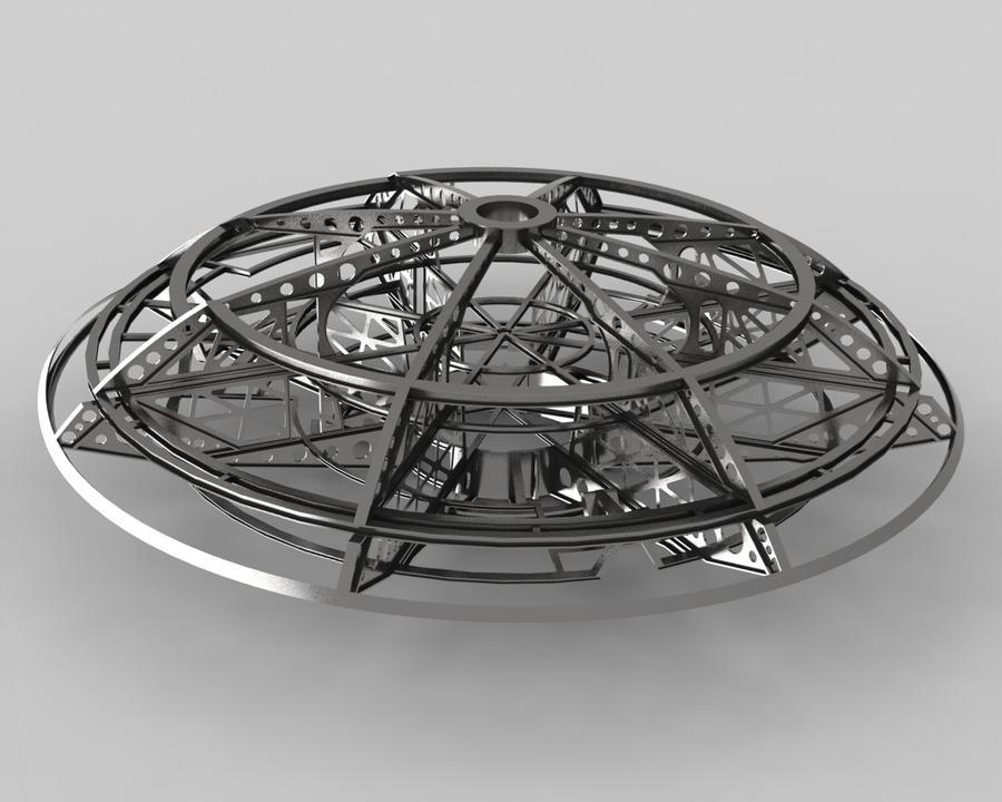 Jupiter 2  Ship Framework 1