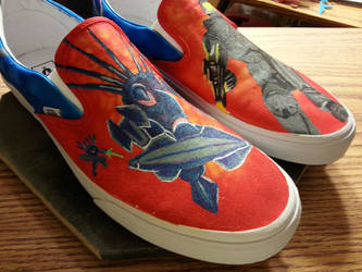Halo Vans Slip ons 7 by Flash-Graphics