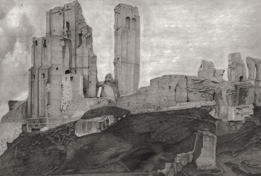 Corfe Castle, Swanage by mchurchill1982