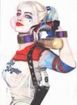 Harley Quinn (Margot Robbie) [colour Pencil]