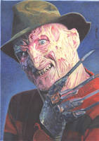 Freddy Krueger (Colour Pencil) by mchurchill1982