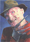 Freddy Krueger (Colour Pencil)