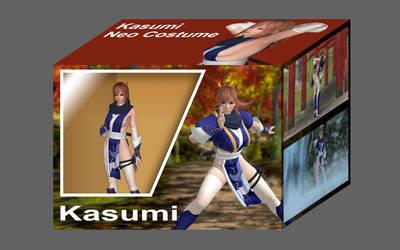 DOA5LR Kasumi Neo Costume by BAKAYARO00