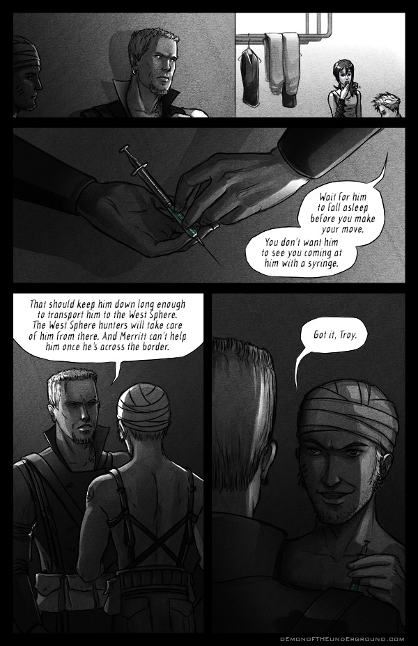 DOTU - Chapter 2, Page 16 by bob-illustration