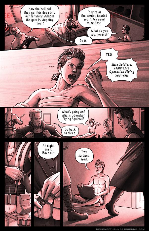 DOTU - Chapter 3, Page 4 by bob-illustration