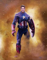 Captain America by doriefs