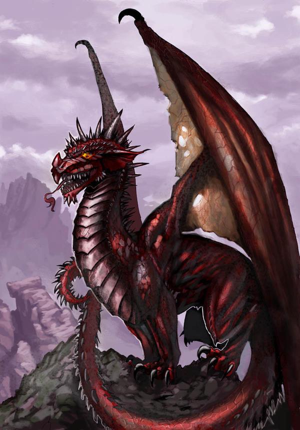 Welsh Red Dragon by doriefs on DeviantArt