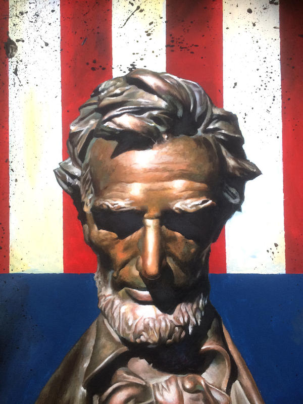 Abraham Lincoln by doriefs