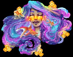 Galaxy for Qinni by FancyxGrenades