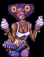 Sunflower   3 emoji challenge   by FancyxGrenades