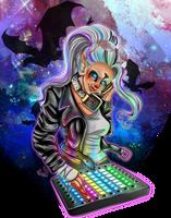 DJ Janaga   Commission   by FancyxGrenades