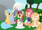Mane 5 unicorn meeting