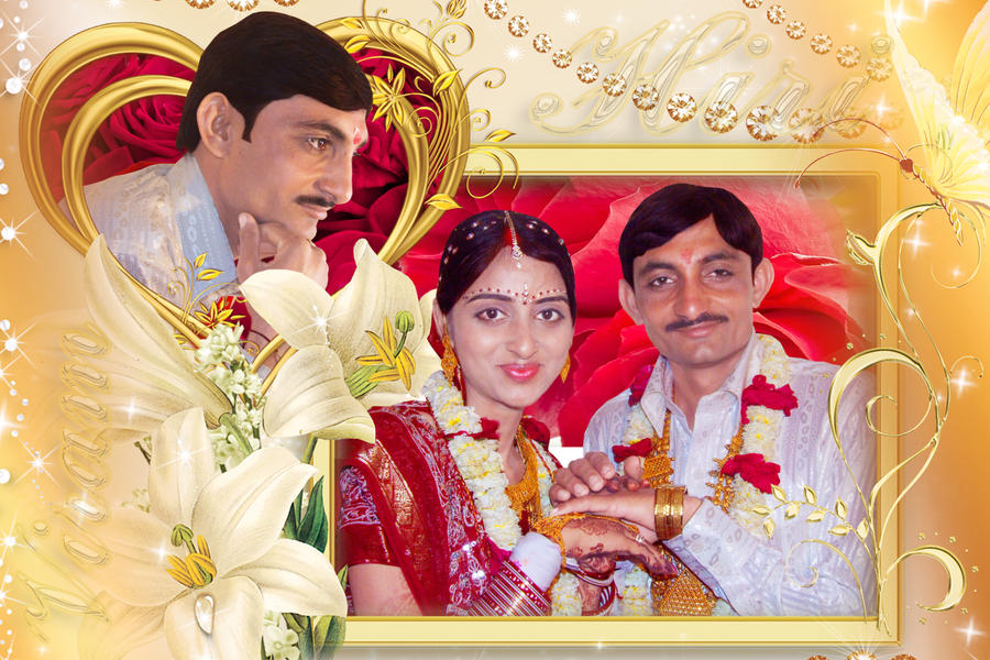 Indian Wedding Couple Frame By Havanthanki On Deviantart