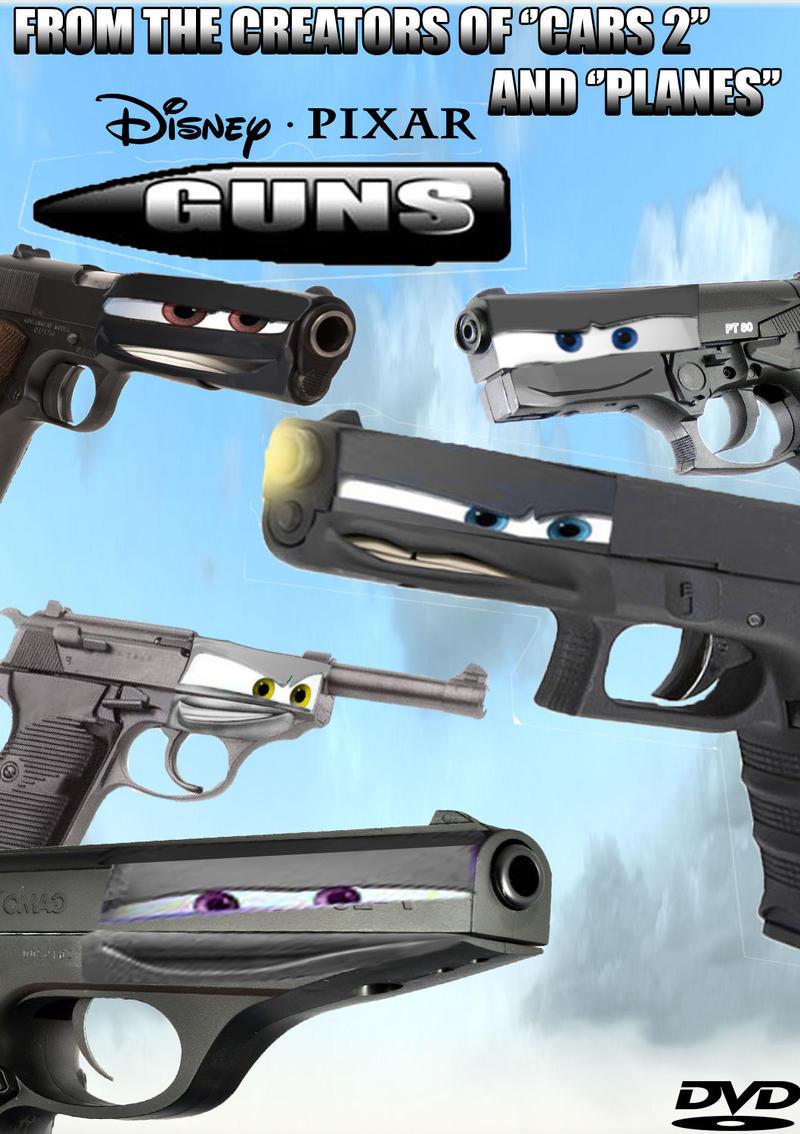 Disney Pixar Guns Movie Dvd Case By Gunnigga19 On Deviantart