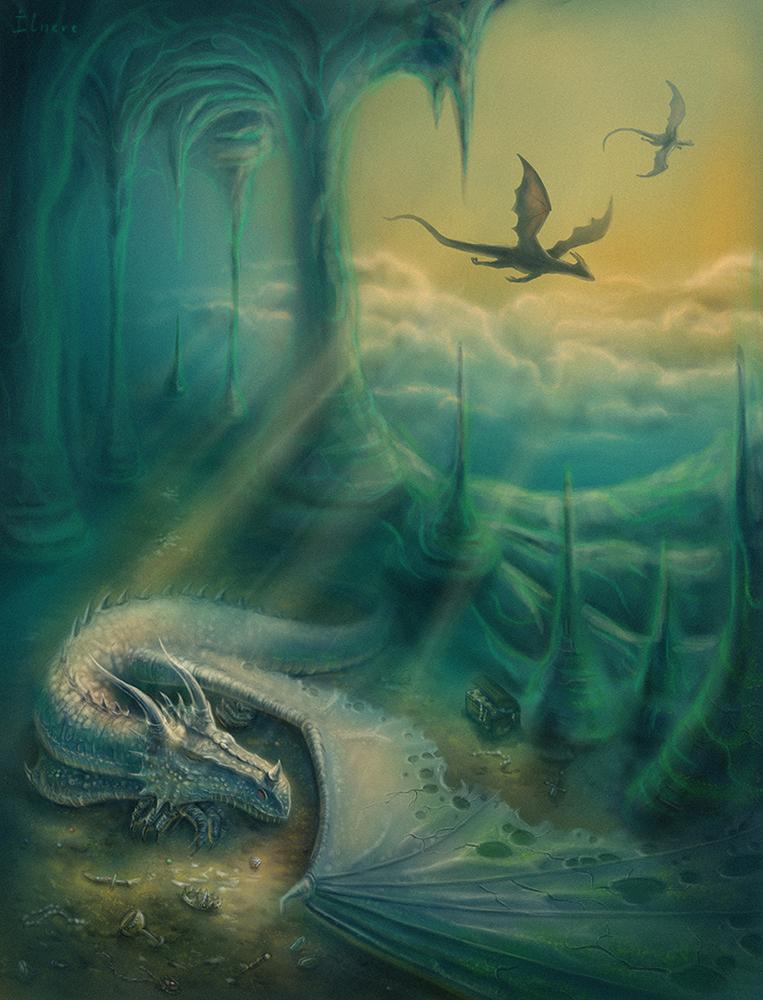 Dragon's dream by Ilnere