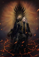 Commission: Sauron. by Shade-of-Stars