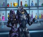 Garrus and Tali
