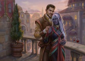 Commission: Shina'fae and Anomen