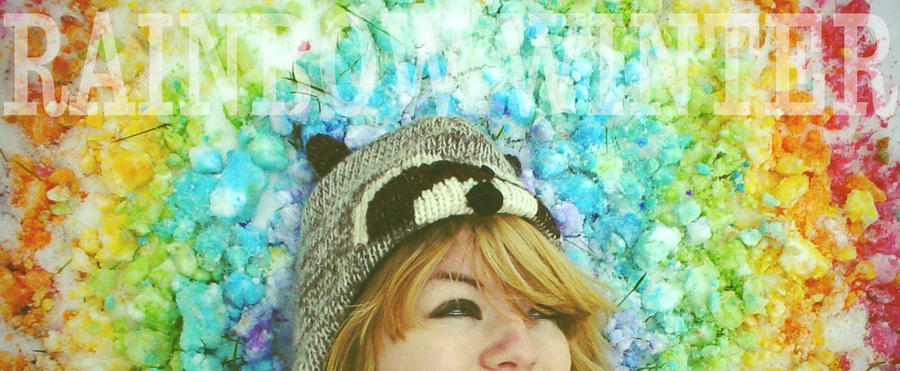 Rainbow Winter by Maddiox