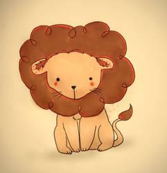 A Lion by Maddiox