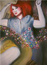 Klimtspiration Painting by Maddiox