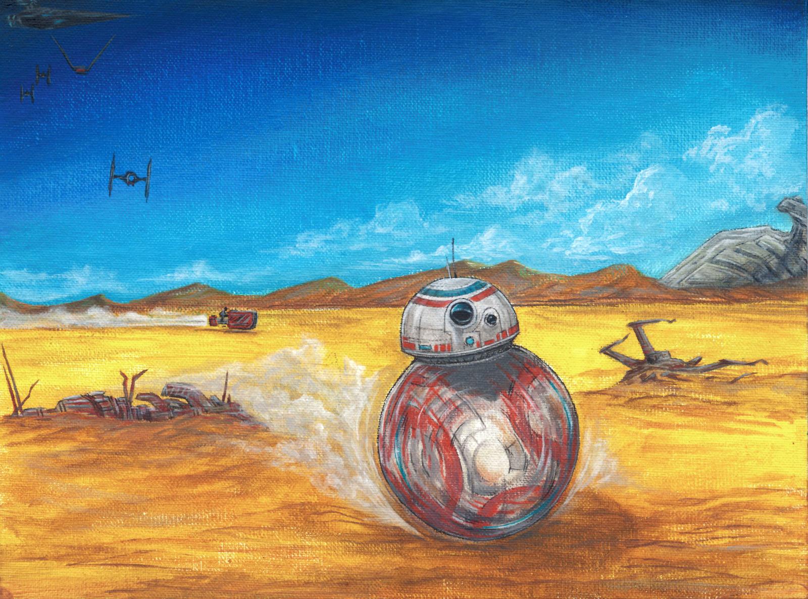 BB-8 by AlexanderCrW