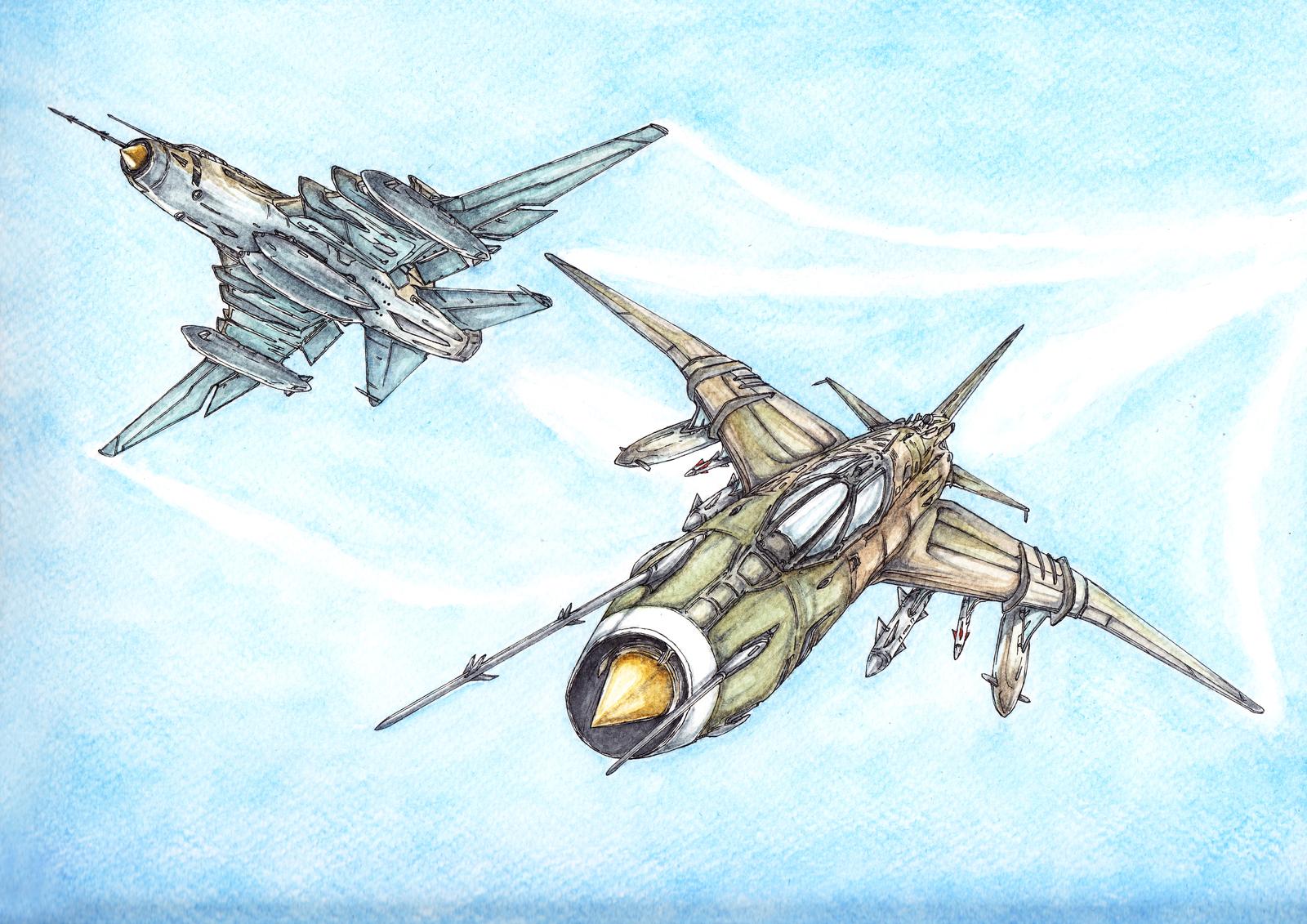 Su-17 Fitter Squad