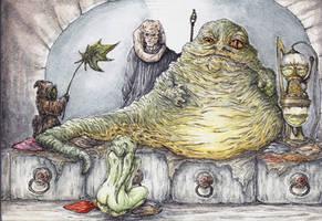 Jabba's New Joy Watercolor