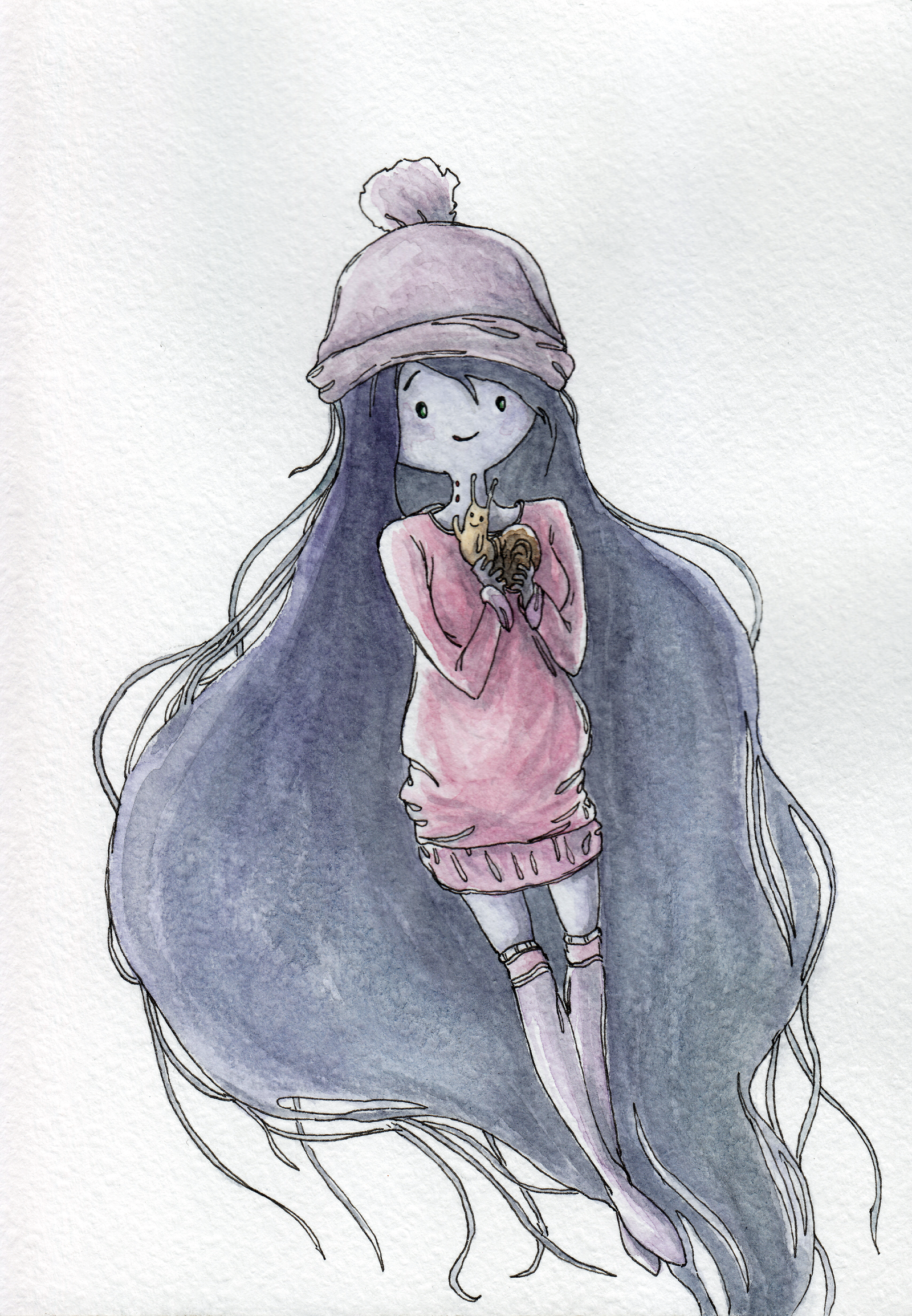 Marceline A Friend Of Finn by AlexanderCrW