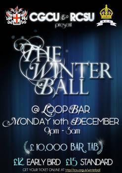 Winter Ball Poster