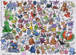 All Johto Pokemon and Ditto :D