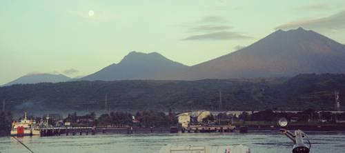 Three Mountains, One Moon