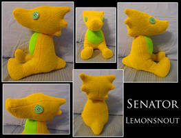Senator Lemonsnout by bluekitsvne